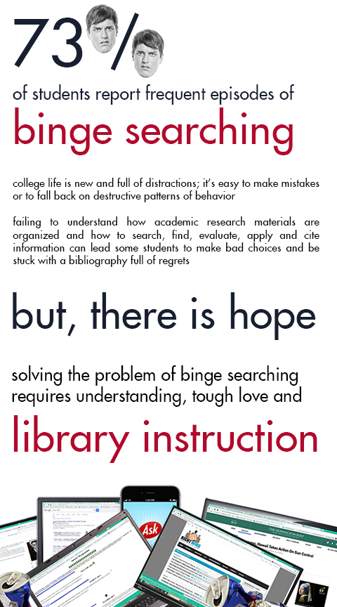 Binge Searching Graphic